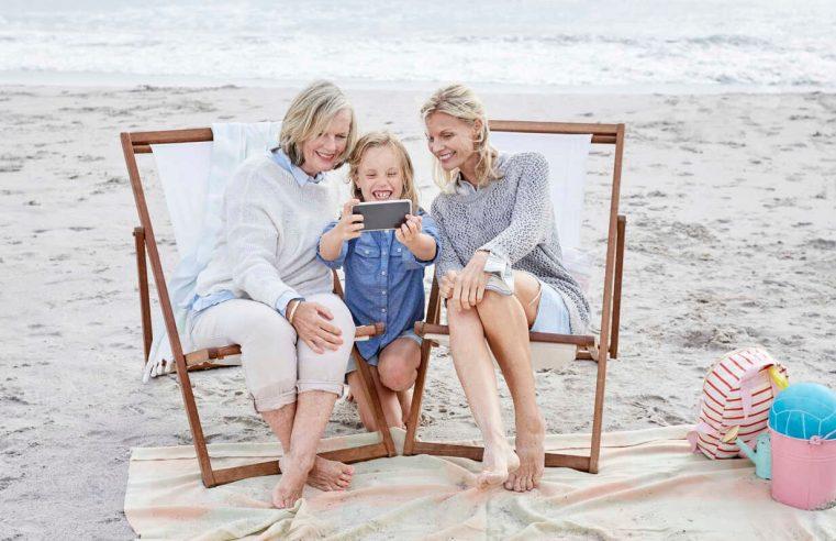 Annem, Ben ve Kızım. Üç Matruşkanın En Güzel Haliyiz.