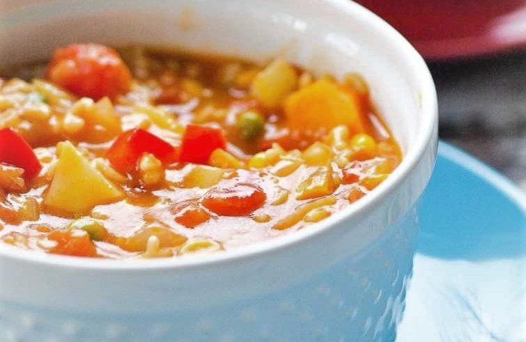 Alfabeli Sebze Çorbası